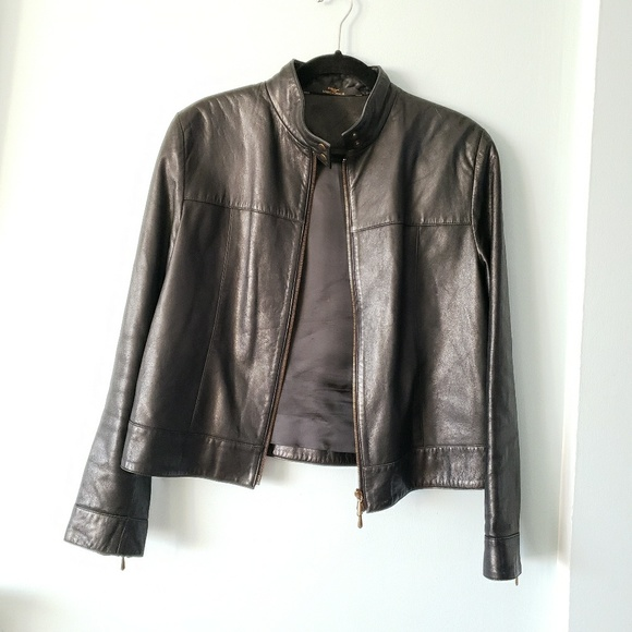 d2408c096 Marks & Spencer Jackets & Coats   St Michael Marks Spencer Leather ...